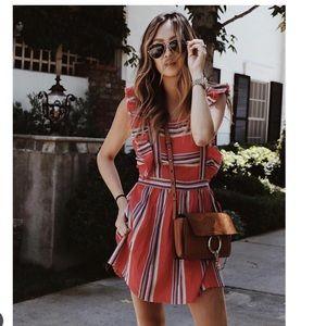 🌻NWT dRA Malibu mini apron dress🌻